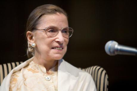 Photo of Ruth Bader Ginsburg